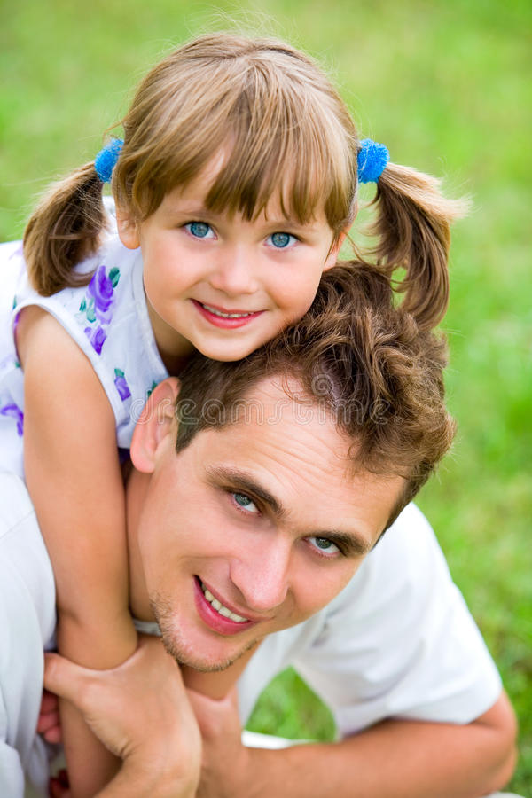 Download Father and Daughter stock photo. Image of park, hugs - 10412706