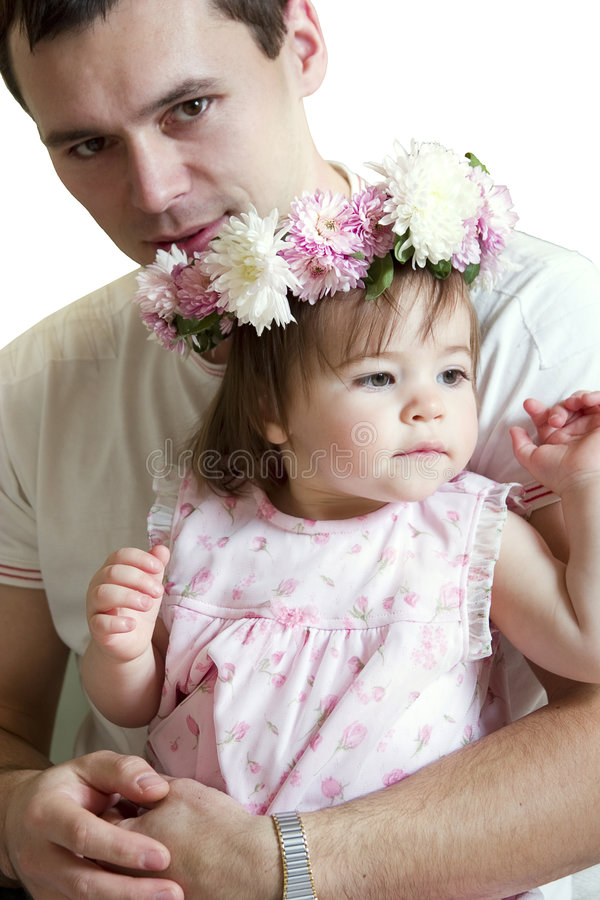 Download Father and daughter stock image. Image of happy, daughters - 1578411