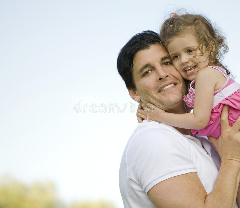 Download Father and daughter stock photo. Image of life, outdoors - 20955848