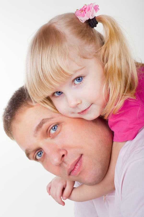 Download Father and Daughter stock image. Image of family, aged - 24283567