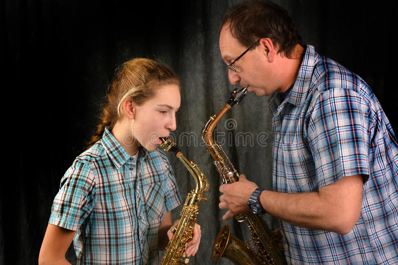 Download Father and daughter stock photo. Image of pretty, golden - 29027404