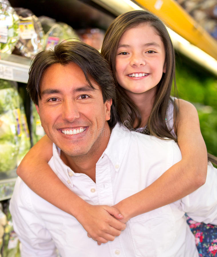 Download Father and daughter stock photo. Image of latin, lifestyle - 29056324