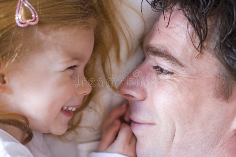 Download Father and daughter stock photo. Image of family, little - 4899172