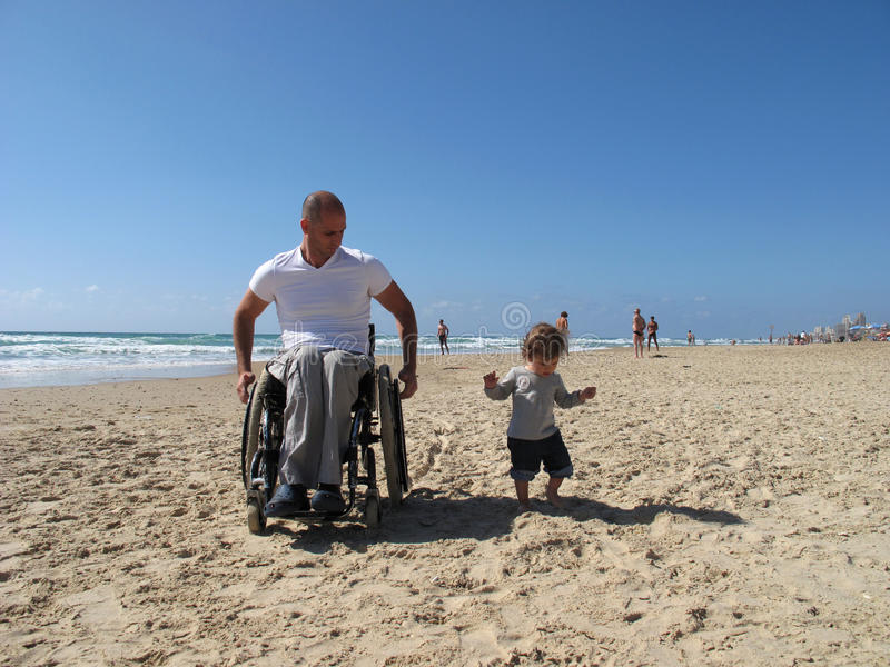 Download Father and daughter stock image. Image of beating, accessibility - 9420301