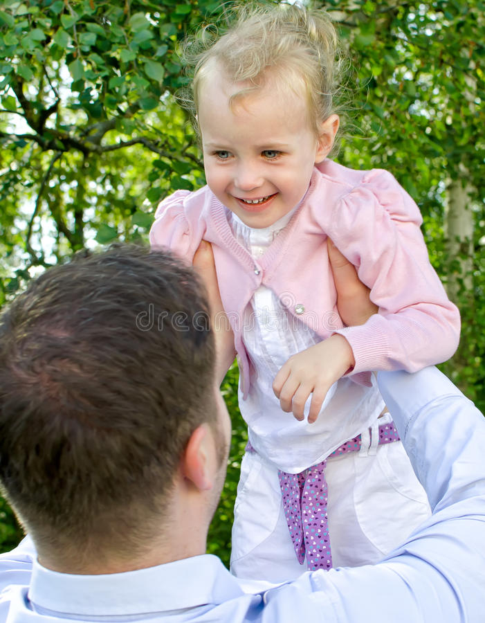 Download Father And Daughter Having Fun Stock Photography - Image: 26280252