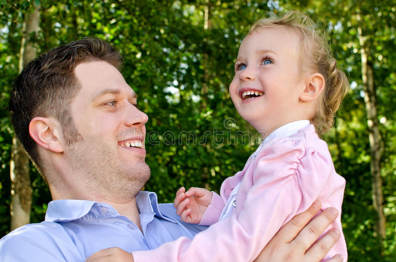 Download Father And Daughter Having Fun Stock Image - Image: 26280291