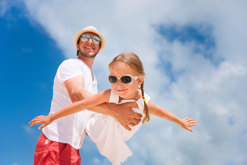 Download Father And Daughter Having Fun Stock Photo - Image: 34176500