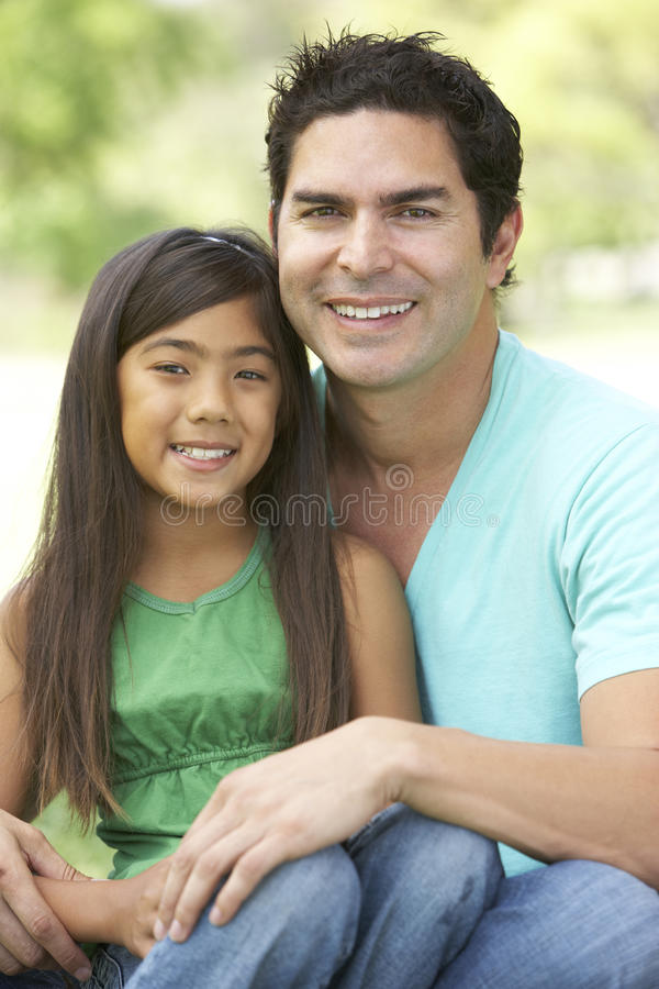 Download Father And Daughter In Park Stock Photography - Image: 11502922