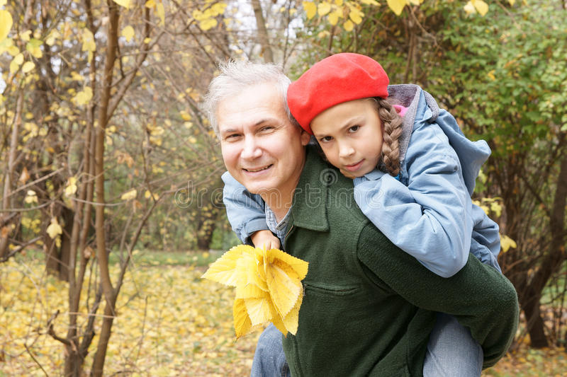 Download Father And Daughter Playing Stock Photo - Image: 14421578