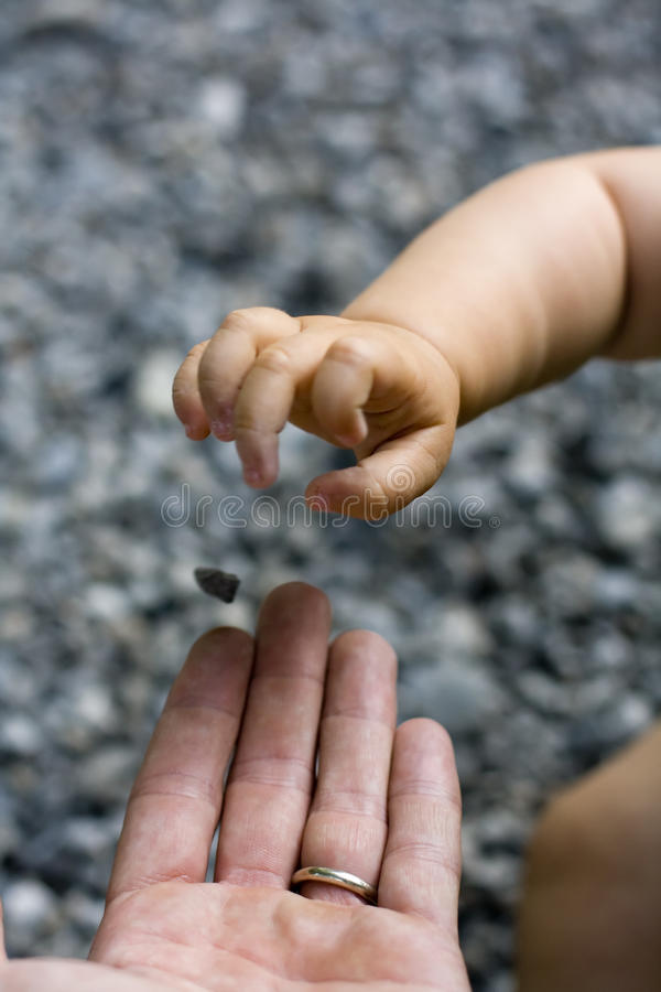 Download Father And Daughter Playing Stock Image - Image: 32954831