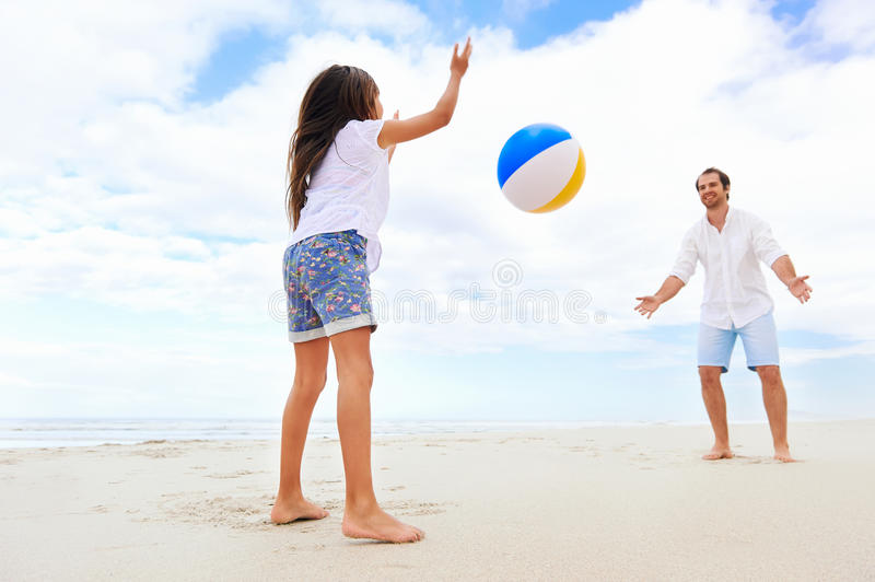 Download Family Beach Fun Stock Photo - Image: 30156030