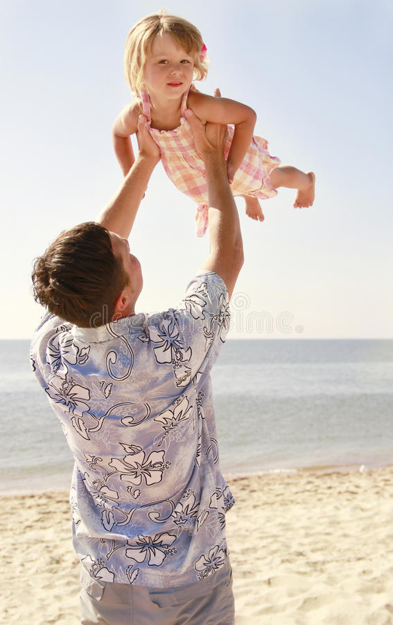Download Father And Daughter Playing Stock Image - Image: 32383167