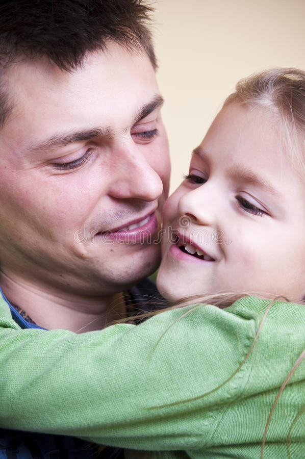 Download Father daughter portrait stock image. Image of thirties - 12079531
