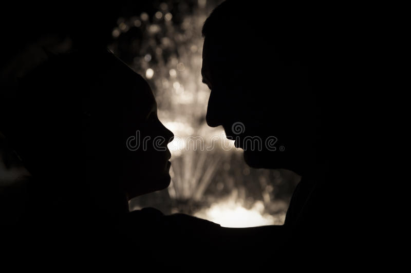 Download Father And Daughter Silhouette Stock Photo - Image: 36726114