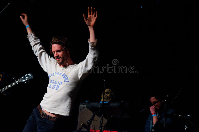 Download Father John Misty Band Performs At Music Hall Editorial Photography - Image: 29493412