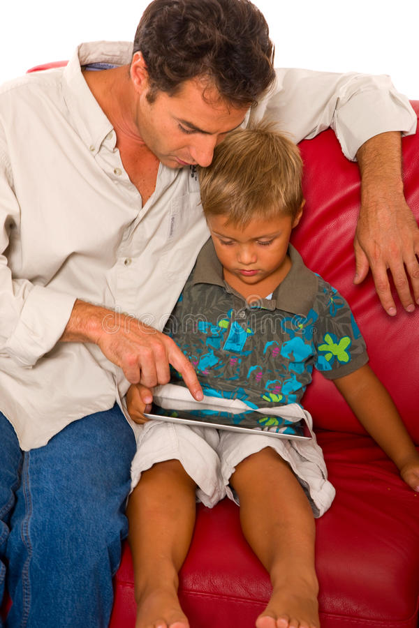 Download Father with one child stock image. Image of togetherness - 28079735