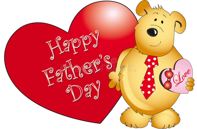 Download Father's day stock illustration. Image of gift, card - 13452610