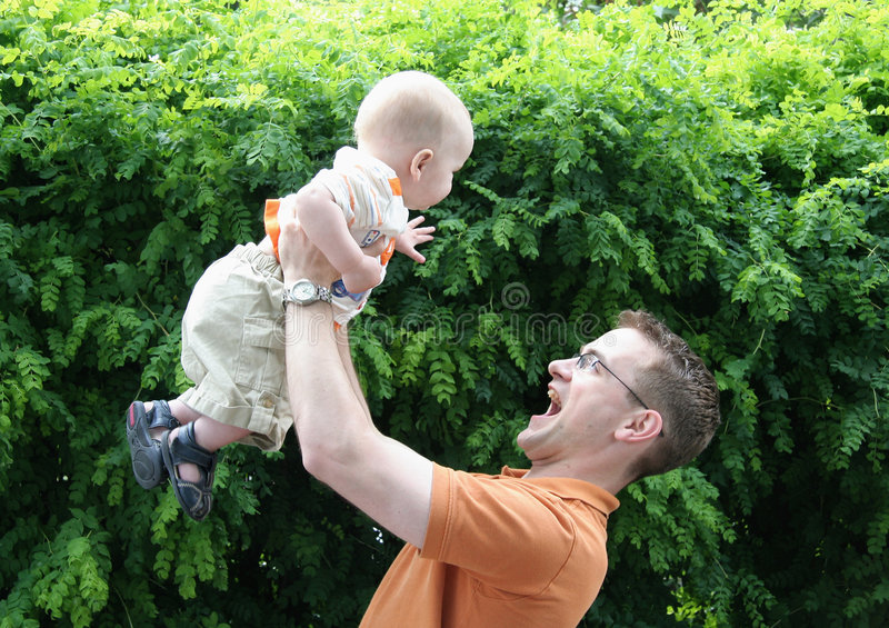 Download Father's Day stock image. Image of laughing, father, lifestyle - 6070853