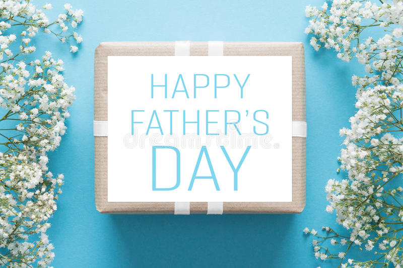 Father`s day background stock photo