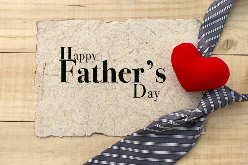 Father`s day card concept royalty free stock photos