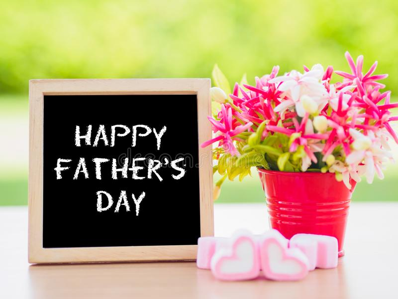 Father`s day concept. stock image