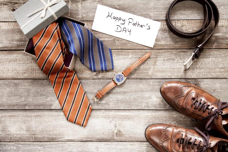 Father`s Day Gift Ideas for Dad stock images