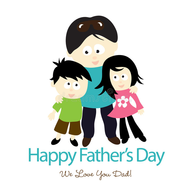 Download Father's Day Isolated Graphic Stock Vector - Image: 10325979