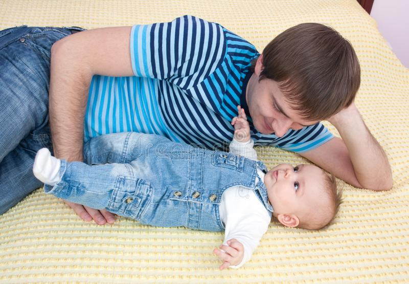 Download Father's love stock photo. Image of love, cute, human - 13558692