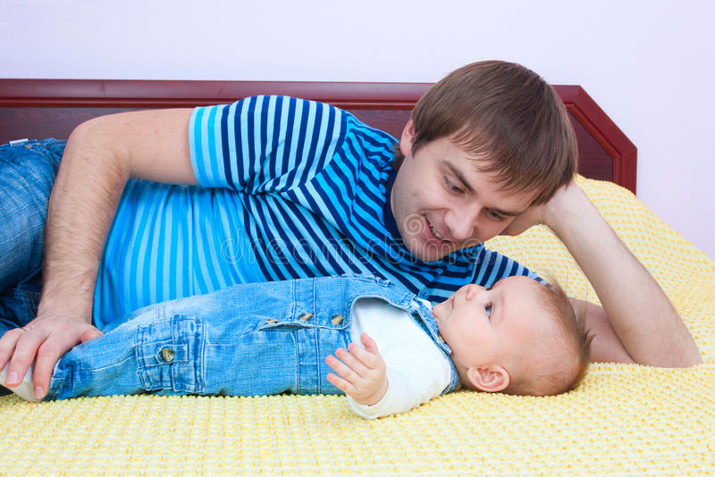 Father S Love Stock Photo