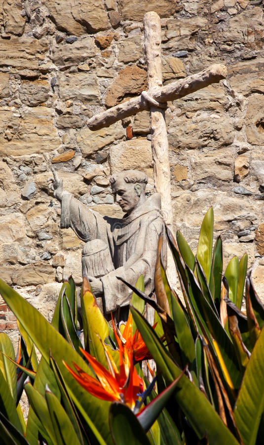 Download Father Serra Statue Mission San Juan Capistrano Royalty Free Stock Images - Image: 22950309
