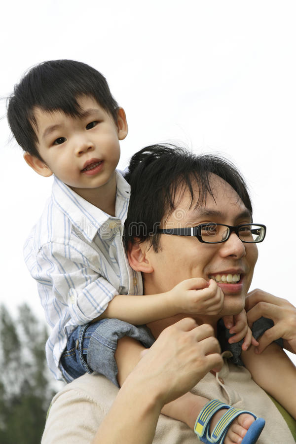 Download Father and son stock photo. Image of casual, parenting - 14850452