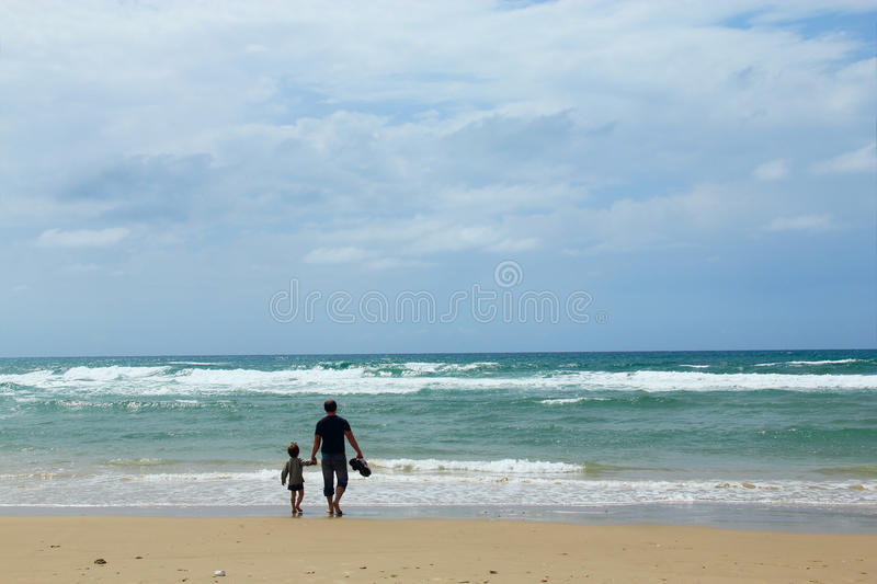 Download Father and son stock image. Image of lanscape, childhood - 19224913