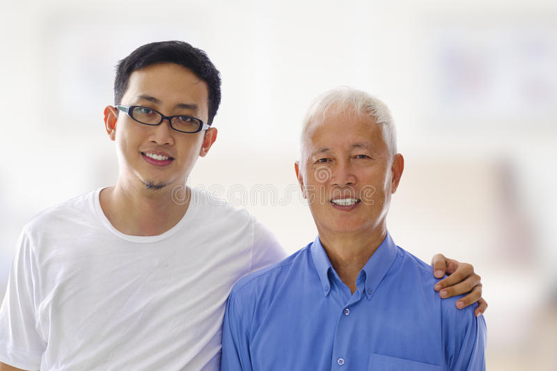Download Father and son stock photo. Image of generation, happy - 24815360