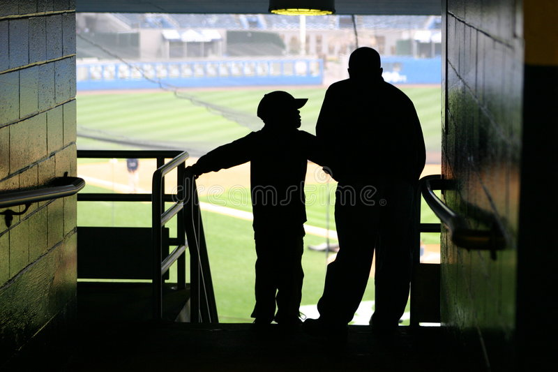 Father & Son royalty free stock images