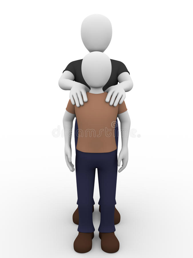 Download Father and son stock illustration. Illustration of togetherness - 27514287