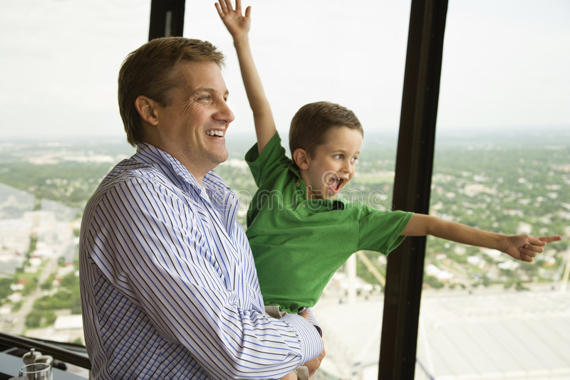 Father and son. royalty free stock photo