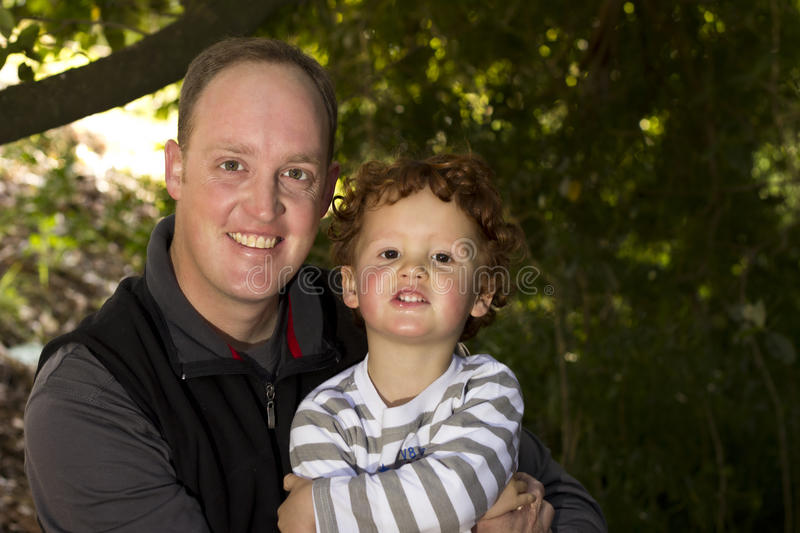 Download Father And Son In Outdoor Setting Stock Image - Image: 29279337