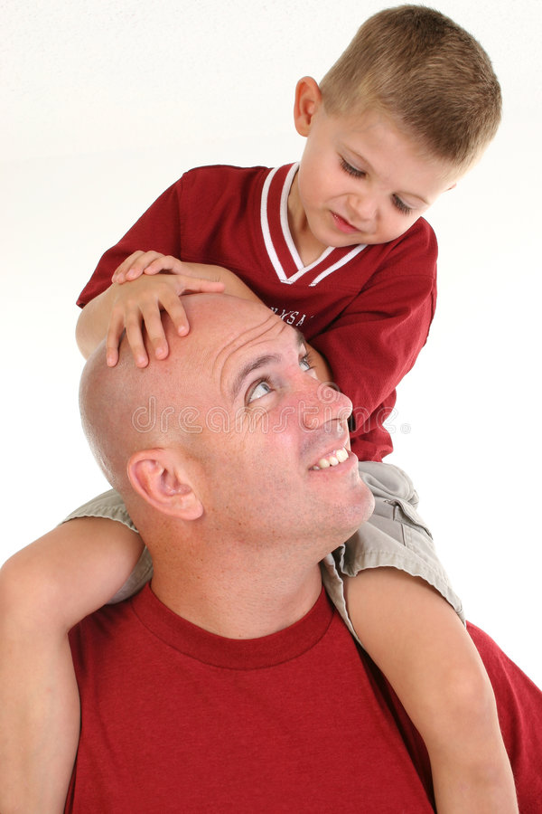 Father and Son royalty free stock images