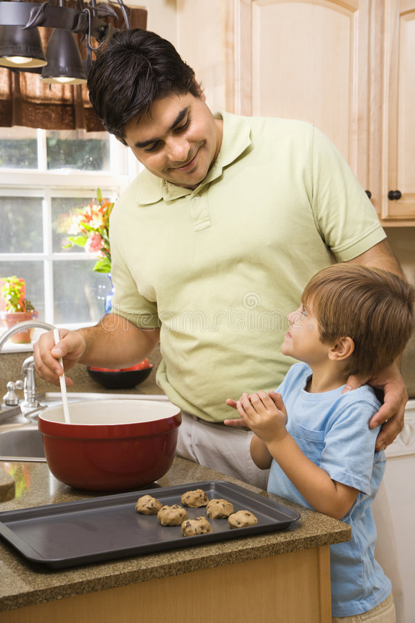 Father and son. royalty free stock image