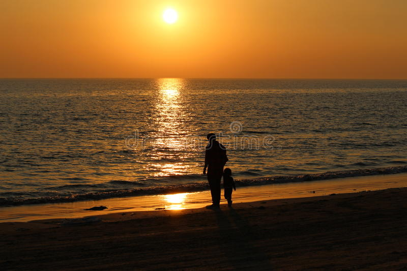 Father Son bonding royalty free stock images