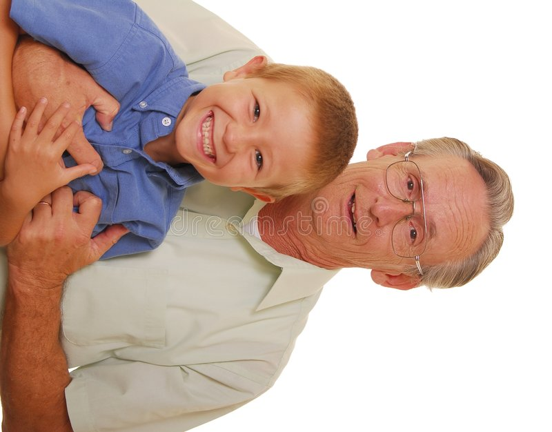 Father & Son Eleven royalty free stock photos