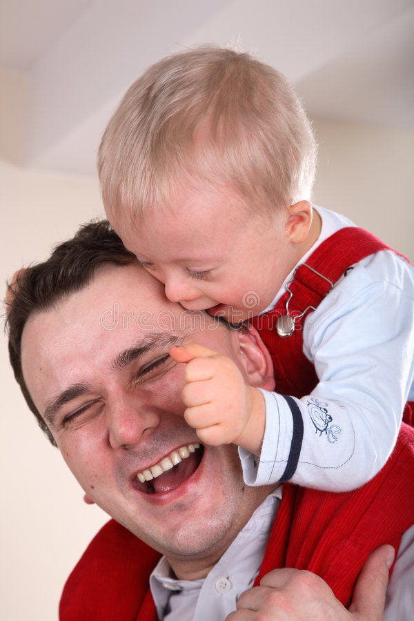 Download Father And Son Portrait stock photo. Image of baby, adult - 4298906