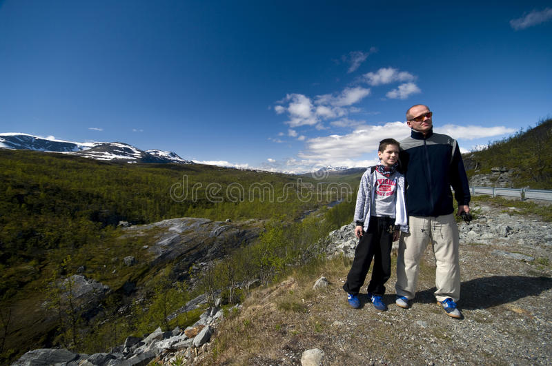 Download Father and son trip stock photo. Image of outdoors, finland - 10030048