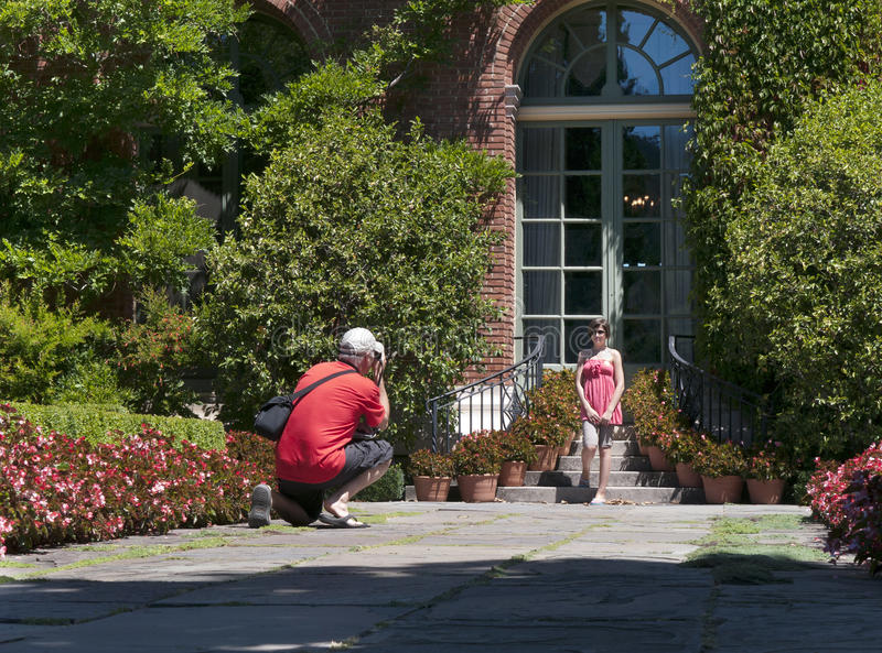 Download Father Taking Picture Stock Photography - Image: 26404422
