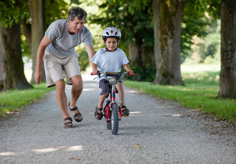Download Father teaching stock image. Image of parent, father - 20252393