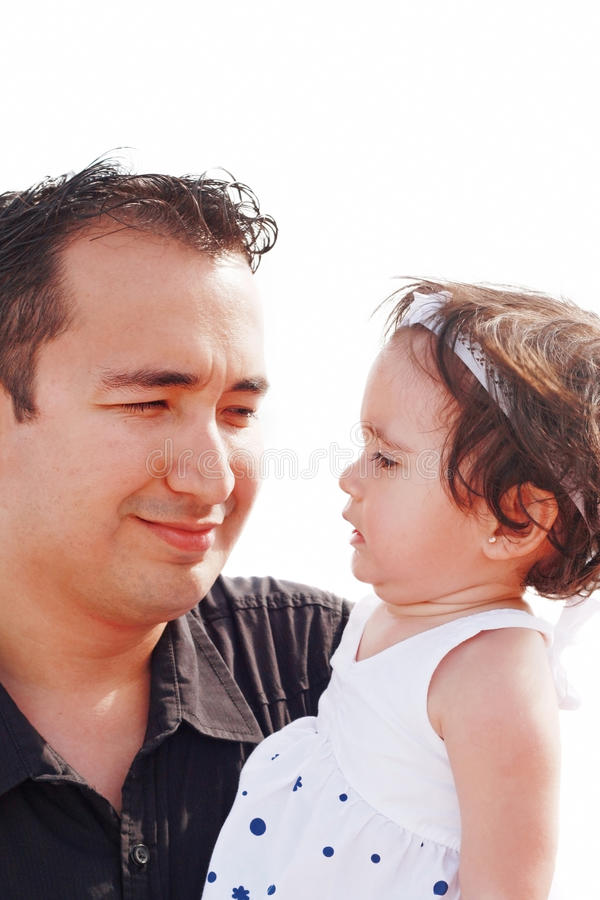 Download Father Watching Her Daughter Stock Image - Image: 19616663