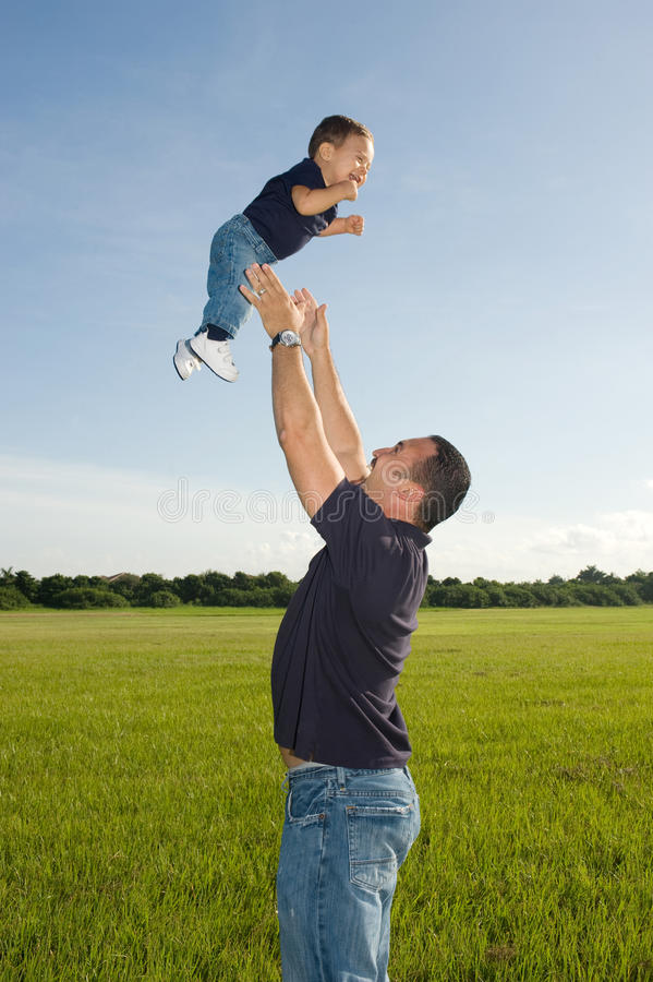 Download Fatherhood stock image. Image of outside, sunlight, father - 14464255