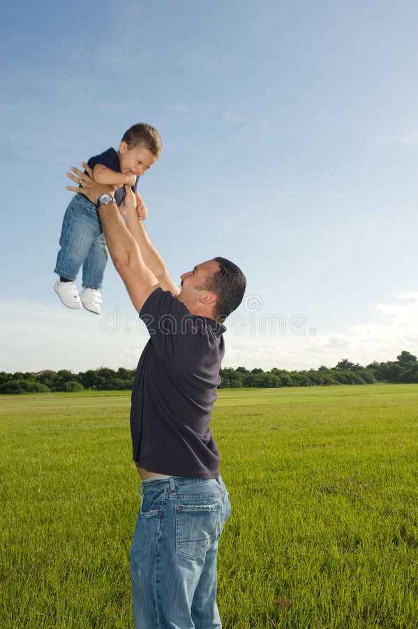 Fatherhood Stock Image