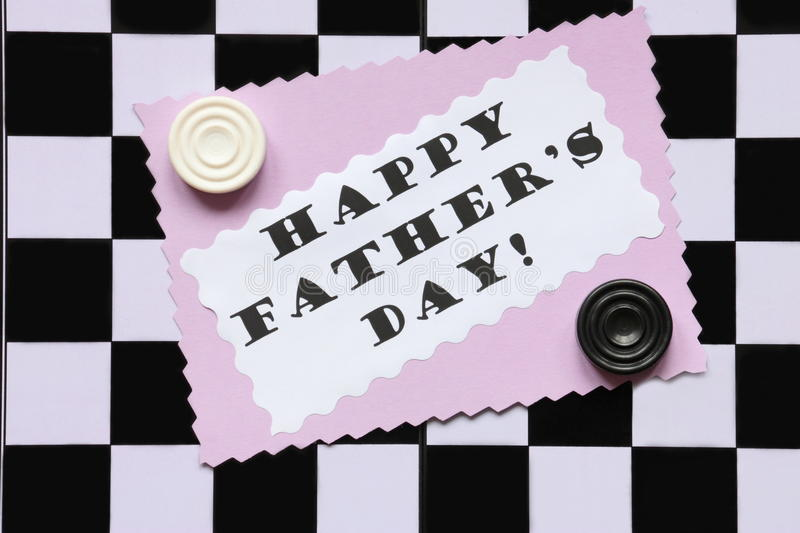 Download Fathers Day Card On Chessboard - Stock Photo Royalty Free Stock Photography - Image: 29413487