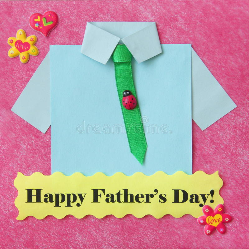Download Fathers Day Card - Craft Background - Stock Photo Royalty Free Stock Photography - Image: 30402587